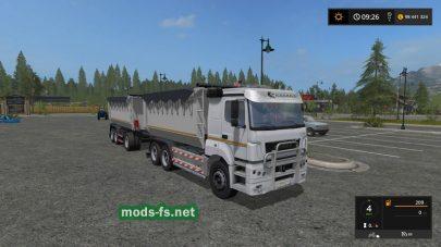 KAMAZ 6580 mods