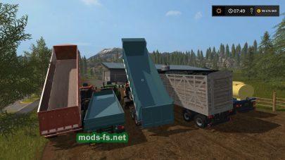 Прицепы для грузовика КРАЗ