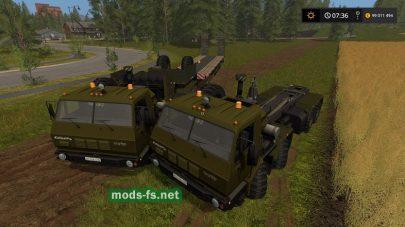 KraZ 6316 mods