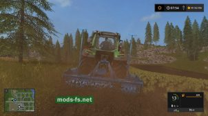 Lemken Zirkon 10/300 для Farming Simulator 2017