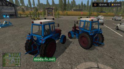 Скриншот мода трактора ЛТЗ-55