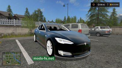 Мод на Tesla Model S 2017