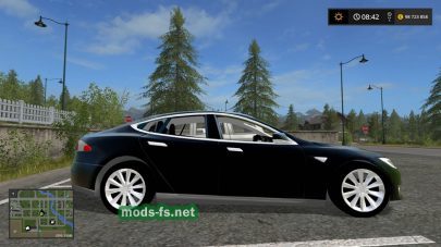 Скриншот мода «Tesla Model S»