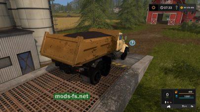 Скриншот мода Tipper KRAZ 6510