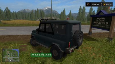 UAZ HUNTER mods