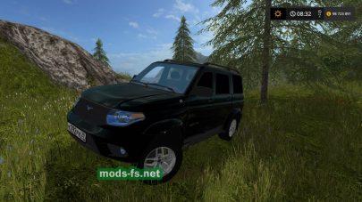 Скриншот мода «УАЗ Патриот»