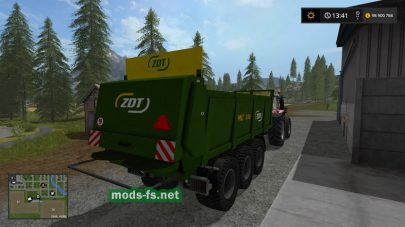 ZDT MC 186 для FS 2017