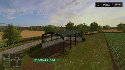 Скриншот карты Millhouse Farm из игры FS 2017