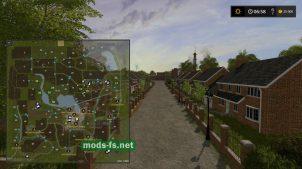 Схема карты Millhouse Farm
