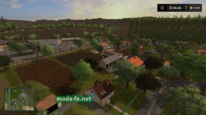 Деревня на карте Nadasdfalva