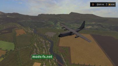 Полет самолета в игре FS 2017