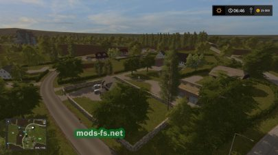 Мод карты «FarmTownDvaz»