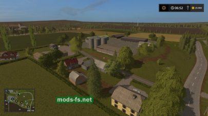 Поселок в игре FS 2017