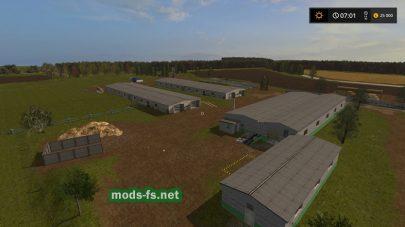 Ферма на карте «Voskresenka»