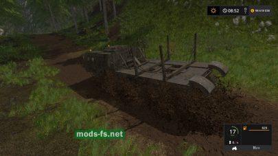 Лесовозы MAЗ в игре FS 2017