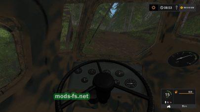 Тягачи для перевозки леса в FS 17