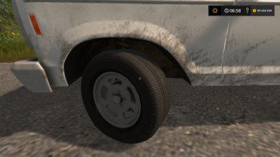 Мод на шум колес в FS17