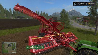 Оборудование для уборки свеклы в Farming Simulator 2017