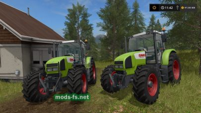 Мод трактора ClaasAres616 RZ
