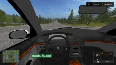 Мод Peugeot406 «TAXI»