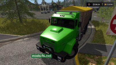 Kraz-65053 mods