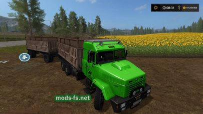 Мод грузовика Kraz-65053