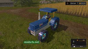 Мод трактора CrazyLegoTractor