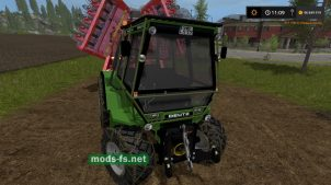 Мод трактора DEUTZ-FAHR INTRAC
