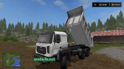 Dump Truck URAL M mods