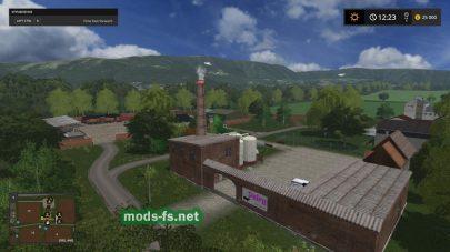 Завод на карте «Lotice»
