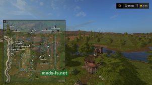 Схема карты «Перестройка 2»