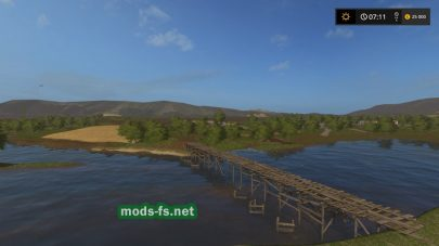 Скриншот карты «Перестройка 2» с игры FS 2017
