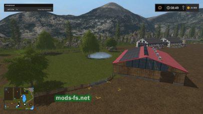Горная местность в игре FS 17