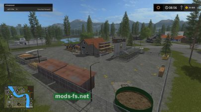 «River Pine Acres RUS» для Farming Simulator 2017