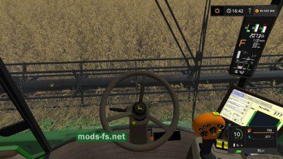 Скриншот мода «John Deere T660I»