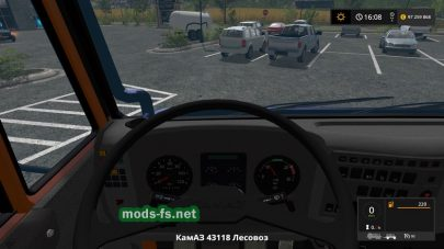 Скриншот мода «КамАЗ-44118с прицепом»