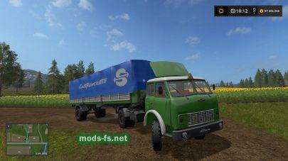 maz-504 mods