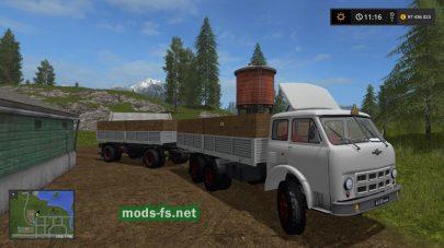 Мод грузовика МАЗ-514