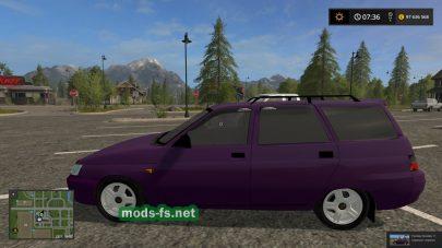 Мод автомобиля Лада-2111