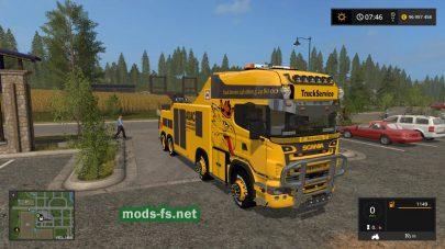 FS17 Scania R500 Abschlepper