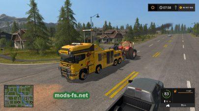 Мод FS17 Scania R500