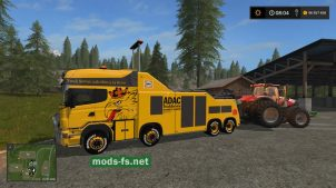 Мод тягача Scania R500