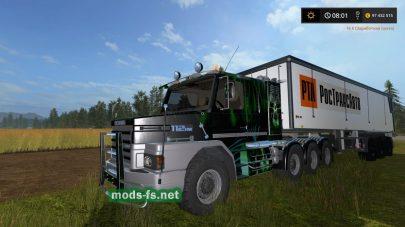 Мод на Scania для FS 2017