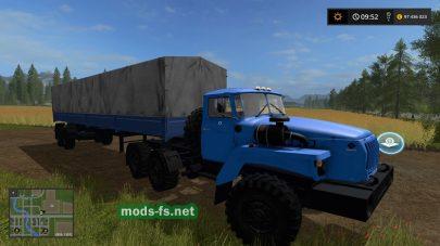 Скриншот мода «ural-4320»