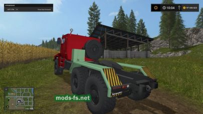 УРАЛ-63095 в игре Farming Simulator 2017