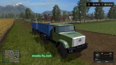 ЗиЛ-4334 в игре Фермер Симулятор