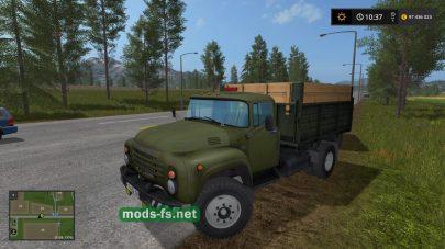 Скриншот мода «ZIL-130»