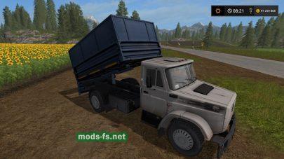 Скриншот мода «ЗиЛ-4331»