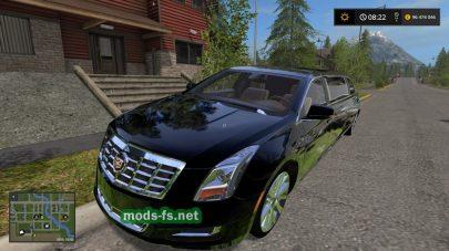 CadillacXTSLimo в игре FS 2017