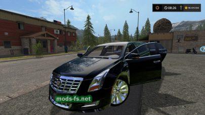 Мод на лимузин CadillacXTS